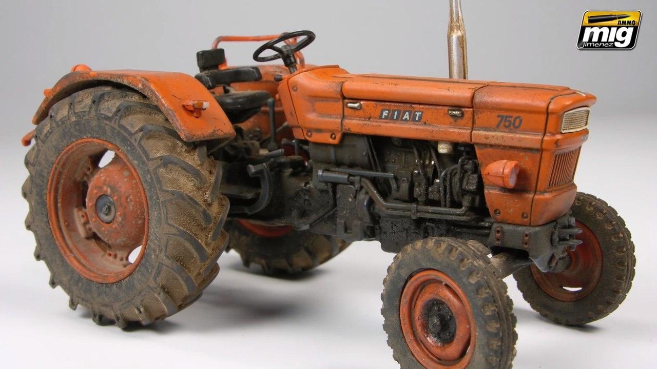 Везеринг модели трактора (Mig Jimenez)