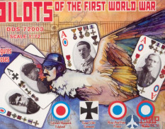 DDS72003 DarkDreamStudio 1/72  Pilots of the First World War