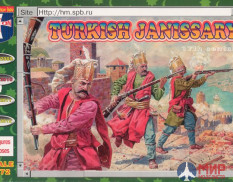 ORI72010  Orion 1/72  Turkish Janissary