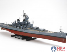 Tamiya 78028 1/350 Us ship US Battleship BB-62 New Jersey