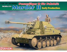 6769  САУ Panzerjager II fur Pak 40/2, Sd.Kfz.131 Marder II Early Production (1:35) Dragon