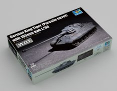 07161  Trumpeter танк German King Tiger (Porsche turret) with 105mm kwk L/68  (1:72)
