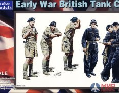 35GM0022 Gecko Models 1/35 Early War British Tank Crew
