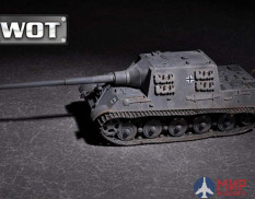 07165 Trumpeter САУ German JagdTiger with 128mm pak 44L-61  (1:72)