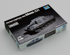 07166 Trumpeter САУ German JagdTiger with 88mm /L71  (1:72)