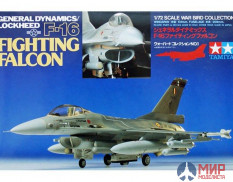 60701 Tamiya 1/72 F-16 Fighting Falcon
