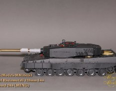 MM35153 Magic Models 1/35 Ствол Rheinmetall Rh 120mm L/44. Leopard 2A4