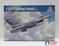 2786 Italeri самолёт F-16 A Fighting Falcon (1:48)