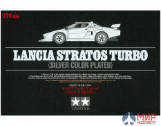 25418 Tamiya Lancia Stratos Turbo (Silver Color Plated) (1:24)