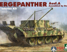 2101 Takom 1/35 Bergepanther Ausf.A Assembled by Demag
