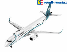 04884 Revell самолёт Embraer 195 Air Dolomiti  (1:144)