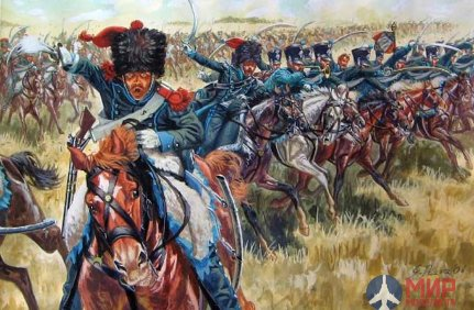 6080 Italeri 1/72 Солдаты French Light Cavalry.