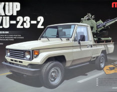 VS-004 Meng Model 1/35 PICK UP w/ZU-23-2
