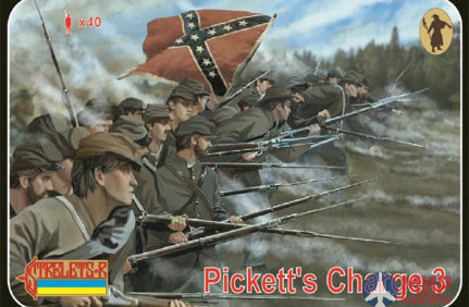 STR178 Strelets*R 1/72 Pickett's Charge 3