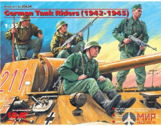 1/35 ICM 35634 German tank troops (1942-1945)