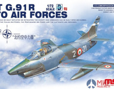 DS-004s Meng Model 1/72 Самолет FIAT G.91 R NATO AIR FORCES