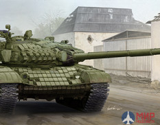 09548  Trumpeter танк Russian T-72A Mod1985 MBT  (1:35)