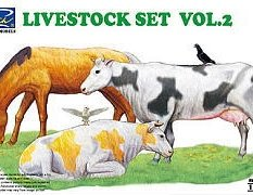 RV35015 Riich Models 1/35 Livestock Set Vol.2