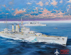 05350 Trumpeter  флот  HMS Exeter  (1:350)