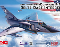 DS-006 Meng Model 1/72 Самолет CONVAIR F-106A DELTA DART INTERCEPTOR