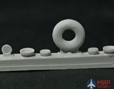 NS48109-a North Star Models 1/48 Wheels set for An-2 soviet plane - No Mask series