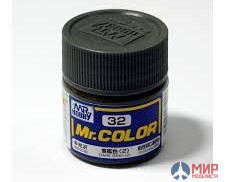 C032 Gunze Sangyo (Mr. Color) Paint urethane acrylic Mr. 10ml DARK GRAY Color (2)