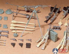 Tamiya 35111 1/35 Weapons. infantry German INFANTRY weapons set 24 weapons