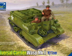RV35017 Riich Models 1/35 Universal Carrier 3 inch mortar Mk. I