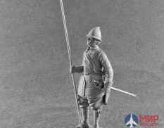 F-75-015 Altores studio 75mm Фигура PIKEMAN 17th century ( 1:24 ) Resin kit