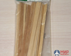 35034 DASmodel edged Board ( 134 x 5 x 1.2 mm , 25 pieces)
