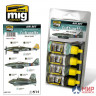 AMIG7209 Ammo MIG LUFTWAFFE WWII LATE COLORS