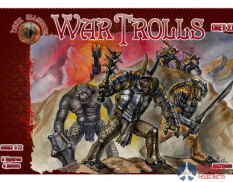 ALL72031 Dark Alliance 1/72 War Trolls. Set 2