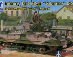 CB35144 Bronco Models 1/35 Танк Infantry Tank Mk.III Valentin Mk.IX