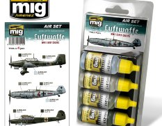 AMIG7210 Ammo MIG LUFTWAFFE WWII EARLY COLORS