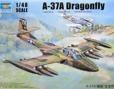 02888 Trumpeter 1/48 Самолет US A-37A Dragonfly Light Ground-Attack Aircraft