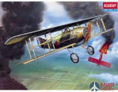 12446 Academy 1/72 Самолет SPAD XIII WWI FIGHTER