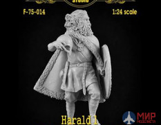 F-75-014 Altores studio 75mm Фигура HARALD 1-st  The first king of Norway ( 1:24 ) Resin kit
