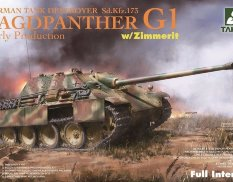 2125 Takom 1/35 Jagdpanther G1 early German Tank Destroyer Sd.Kfz.173 w/ Zimmerit / full int