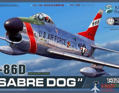 KH32007 Kitty Hawk 1/32 North American F-86D Sabre Dog