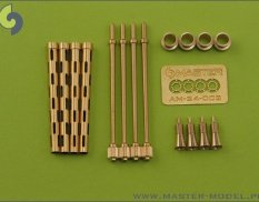 AM-24-001 Master British Mk 2 Browning .303 caliber (7,7 mm) (4pcs)