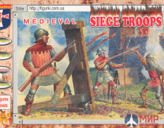 ORI72019  Orion 1/72  Medieval Siege Troops