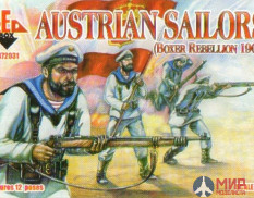 RB72031 Red Box 1/72 Boxer Rebellion Austrian Sailors