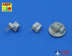 350L02 ABER 1/350 Set  of 12 pcs 127 mm type 89 A/A long barrels for Japan ships мет.ствол