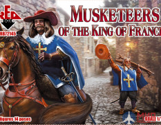 RB72145 Red Box 1/72 Musketeers of the King of France