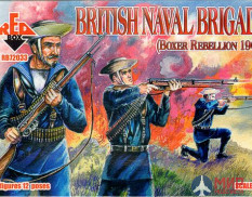RB72033 Red Box 1/72 Boxer Rebellion British Naval Brigade