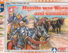 ORI72039  Orion 1/72  Hussite War Wagon and Command