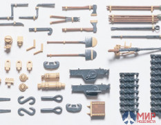 Tamiya 35185 1/35 Attachments and tools (total 31pcs) for Pz.Kpwf.IV (Jack, etc.)
