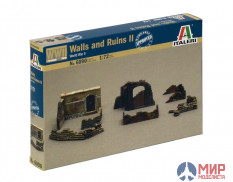 6090 Italeri 1/72 WALLS AND RUINS (NUM. 2)