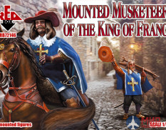 RB72146 Red Box 1/72 Mounted Musketeers of the King of France