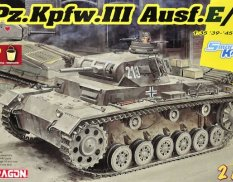 6944 Dragon Pz.Kpfw.III Ausf.E/F (2 IN 1) 1/35
